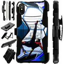 Lux-Guard For iPhone 6/7/8 PLUS/X/XR/XS Max Phone Case Cover SOCCER BICYCLE KICK