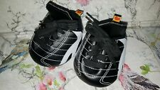 NEW Build a Bear Black & White Football Sports Boots
