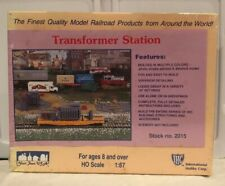 IHC HO SCALE TRANSFORMER STATION #2015