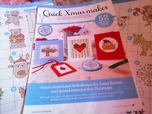 CROSS STITCH CHART DESIGN LIBRARY 52 QUICK STITCH CHRISTMAS MOTIF CHARTS