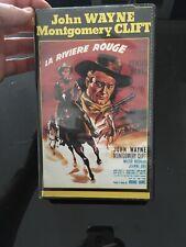 VHS, Cassette Vidéo, K7 : LA RIVIÈRE ROUGE, John Wayne, Montgomery, Western