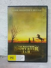 The Man From Snowy River (MOVIES) I + II (1 + 2) DVD Collector's Edition 2-Disc
