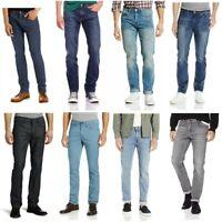 Levis 511 Mens Slim Fit Cotton Low Rise Zipper Fly Jeans Blue Black Gray