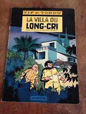 la villa du long cri EO 1966 tif et tondu par will et rosy côte BDM : + 60e