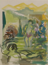 Porträts & Personen künstlerische Aquarell-Malereien