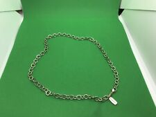 James Avery Circle Link Charm Chain RARE