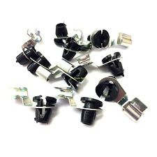LAND ROVER DEFENDER DISCOVERY 1 ANTI RATTLE DOOR LOCK ROD CLIP SET X10 BFP1265L