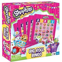 Shopkins Big Roll Bingo Family Game - Once You Shop You Can't Stop