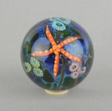 Cathy Richardson 2006 Mini Starfish On Coral Reef Marble/Paperweight