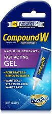 Compound W Maximum Strength Wart Remover Fast Acting Removal Gel 0.25 OZ