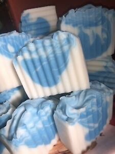 Natural Handmade soap, Vegan cruelty free 100% vegan 1 Kg Joblot Not Off cuts