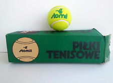 One Rare Polish Stomil Tennis Ball With Original Box