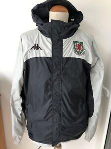 Vintage Wales Football Kappa Windbreaker Jacket Size Large Rare