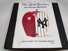 VINTAGE BASEBALL 1981 NEW YORK YANKEES OFFICIAL YEARBOOK