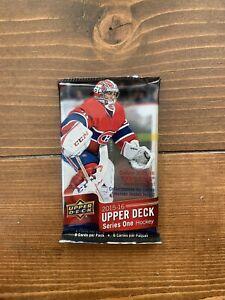 2015/16 Upper Deck Series 1  Hockey Unopened Pack ( Possible YG Mcdavid RC ?)