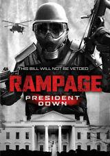 Rampage: President Down (DVD, 2016, WS) Brendan Fletcher, Steve Baran  NEW
