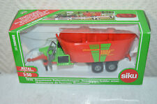 Gluconate Fodder Strautmann Siku Farmer 1/50 Tractor Die-Cast Metal New