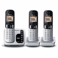Panasonic KXTGC223ALS Cordless Phone with 3 Handsets
