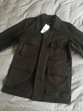 Uniqlo And Lemaire Olive Work Jacket Sz XS Uniqlo U