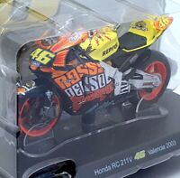 Altaya 1/18 FFR44 - Honda RC 211V Valentino #46 Rossi Valencia 2003