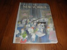 NEW YORKER MAGAZINE- J.J.SEMPE Cover-Very Fine-No Label-January 15,1990
