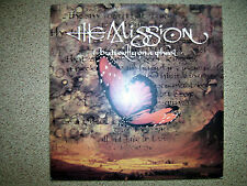 """THE MISSION - BUTTERFLY ON A WHEEL 12"""" ps 1989 goth"""