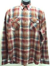 $59.50 NEW VOLCOM MEN'S REED L/S PLAID SHIRT M MEDIUM code UU57