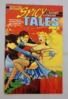 SPICY TALES #6, ETERNITY COMICS, VF+, 1989