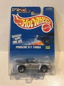 Hot Wheels~1997~Collector # 608~Porsche 911 Targa~German Super Cars~See Notes