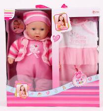 Babypuppe 40cm spielpuppe Kinderpuppe schmusepuppe Baby Born Puppe spielpuppe