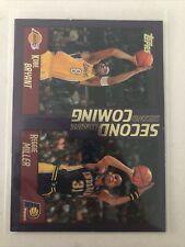 2000-01 Topps Second Coming Kobe Bryant + Reggie Miller  #292