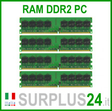 KIT RAM 8Gb (4x2Gb) PC2-6400U DDR2-800Mhz 240pin Memoria x DESKTOP No Ecc