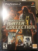 Namco Classic Fighter Collection (Sony PlayStation 2, 2008) new sealed ps2