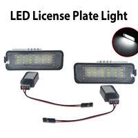 2x LED Kennzeichenbeleuchtung Kennzeichenleuchte für VW Golf 4 5 6 Passat Lupo