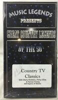 """""""Great Country Legends Of The 50's""""  (VHS) Country TV Classics Patsy Cline"""