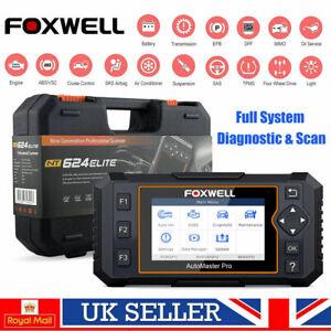 Foxwell NT624 Elite Full System Car Diagnostic Tool Airbag ABS SRS OIL DPF OBD2