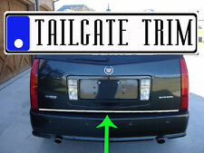 Chrome Tailgate Trunk Molding Trim - Cadillac
