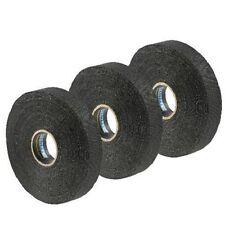 "Renfrew 3 Pack Black FRICTION Hockey Stick Blade, 2 Sided Tape, 5/8"" - 3/4"" Wide"