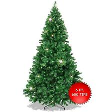 Christmas Tree Xmas Green 6FT/180cm Outdoor Indoor Home Decor Festive Sturdy