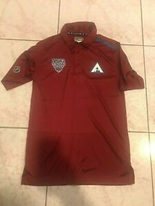 2020 Colorado Avalanche Player Issued Stadium Series Fanatics Polo / Golf Med