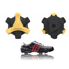 48pcs  Golf Shoes Spikes , Golf Stinger , Golf Fast Twist Cleat (Yellow) us ship