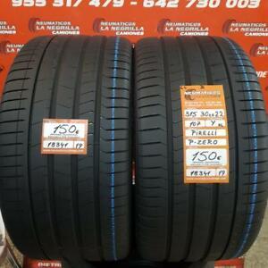 2 x  315 30 R22 107Y XL ZR 6.4mm+ 6.4mm DOT19/19 Pirelli Pzero Ref. 18341