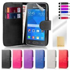 Custodie portafoglio Per Samsung Galaxy Ace 2 in pelle sintetica per cellulari e palmari
