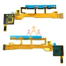 NUOVO Power Volume Microfono Cavo Flessibile PER Sony Xperia Z L36h L36i C6603 C6602
