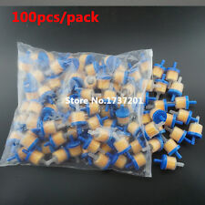 (Lot de 100 filtres à essence bleu carburant pour kart moto scooter**)
