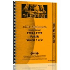 Allis Chalmers F FP FT FTB Series Forklift Service Manual (AC-S-FT20 FP20)