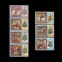 Grenada 1977 - Christmas Art - Sc 820/7 MNH