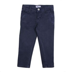 BNWT AYGEY Beautiful Baby Boy Navy Blue Chinoes Trousers 3 Years