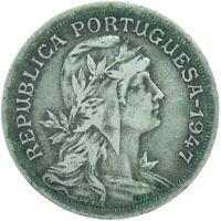 COIN / PORTUGAL / 50 CENTAVOS 1947   #WT16889