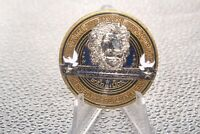Thin Blue Line Keep Safe Police Bold as a Lion Challenge Coin